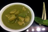 THAI STYLE GREEN CHICKEN CURRY