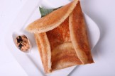 GUN POWDER AND GHEE DOSA WITH SAGO BATTER